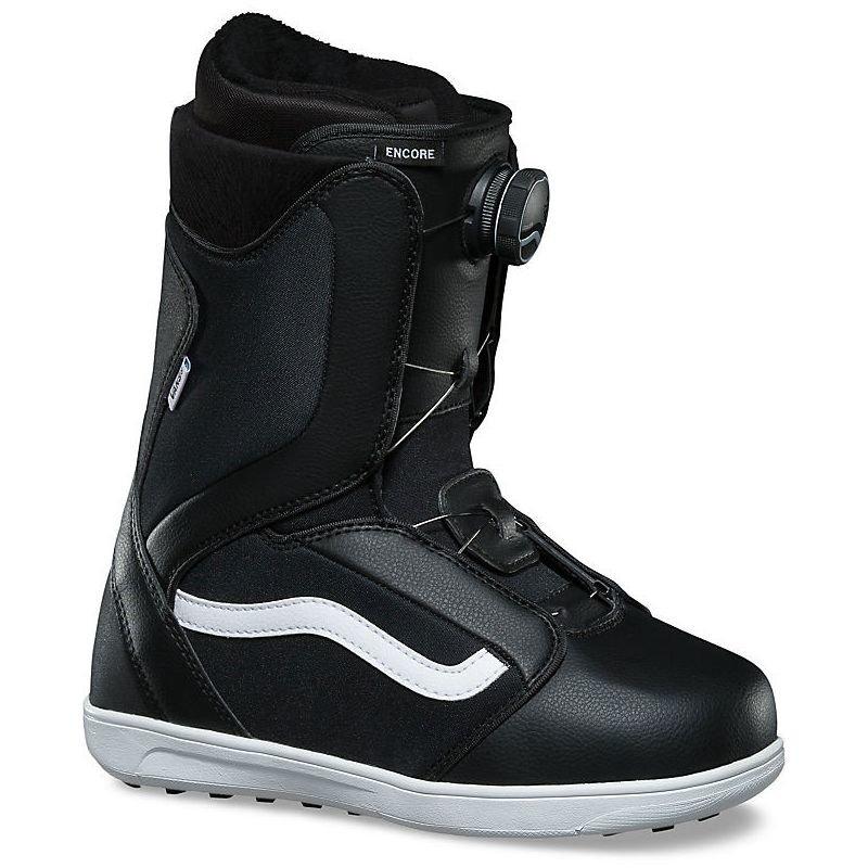 Černé dámské boty na snowboard Vans