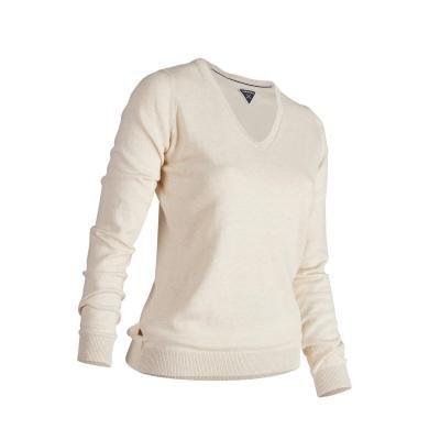 Béžový dámský golfový svetr Inesis - velikost L