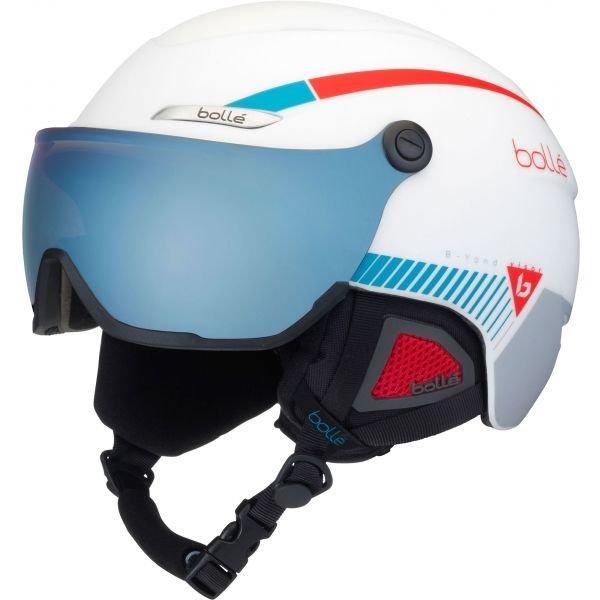Bílá lyžařská helma Bollé - velikost 54-58 cm