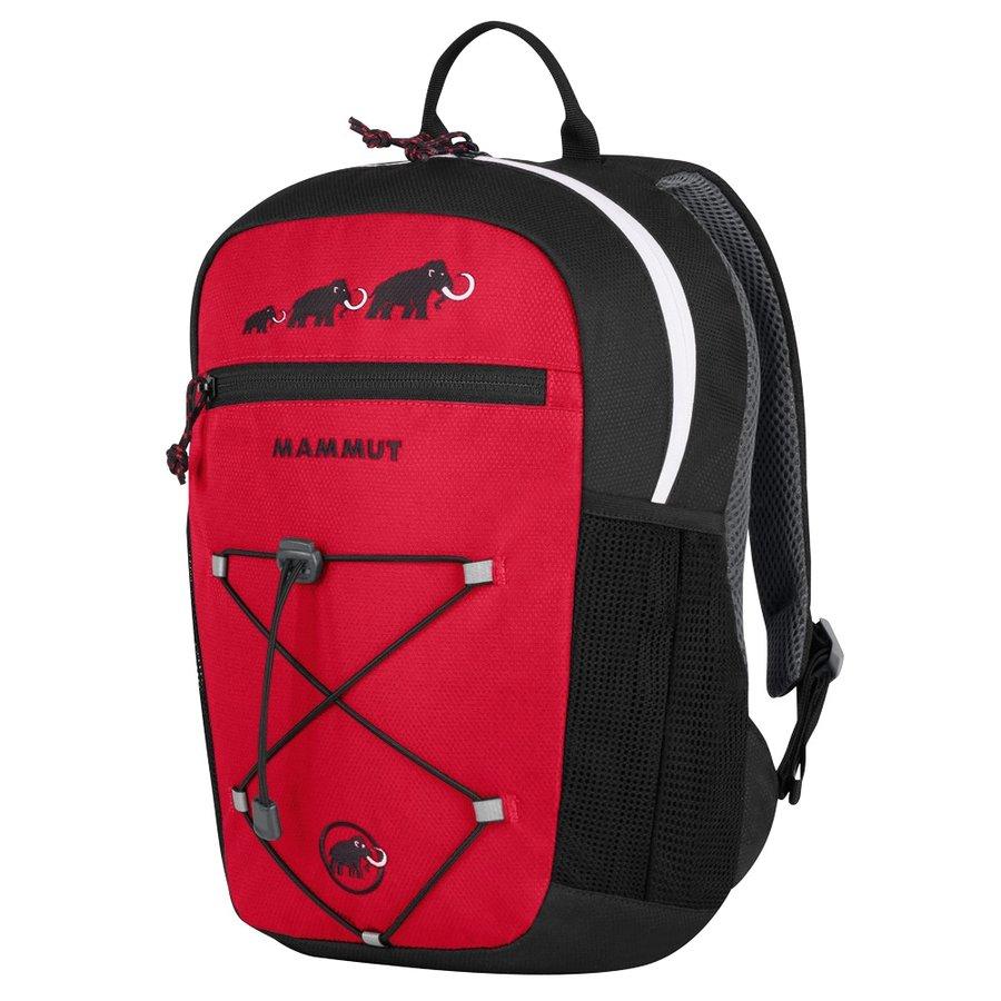 Černo-červený dětský sportovní batoh First Zip, MAMMUT - objem 16 l