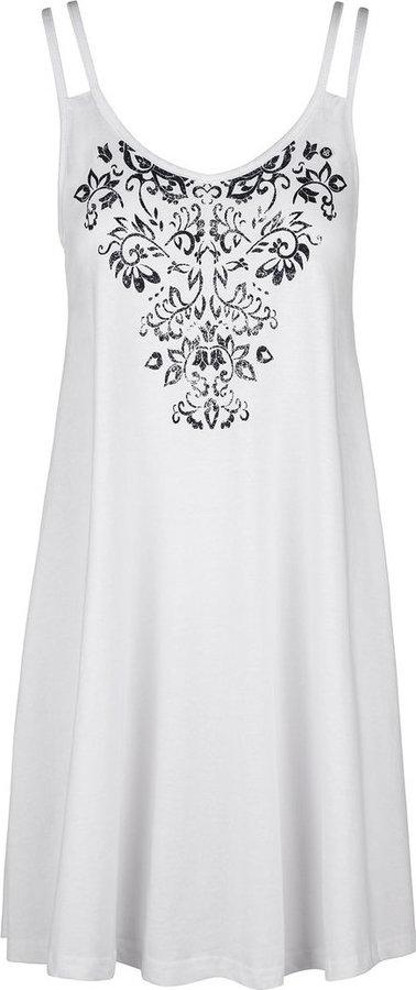 Bílé dámské šaty Loap - velikost XL