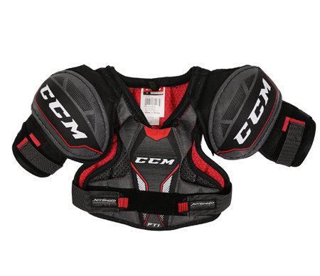 Černý hokejový chránič ramen - youth CCM