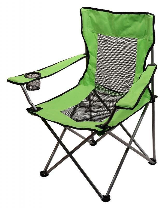 Kempingová židle Cattara - nosnost 110 kg