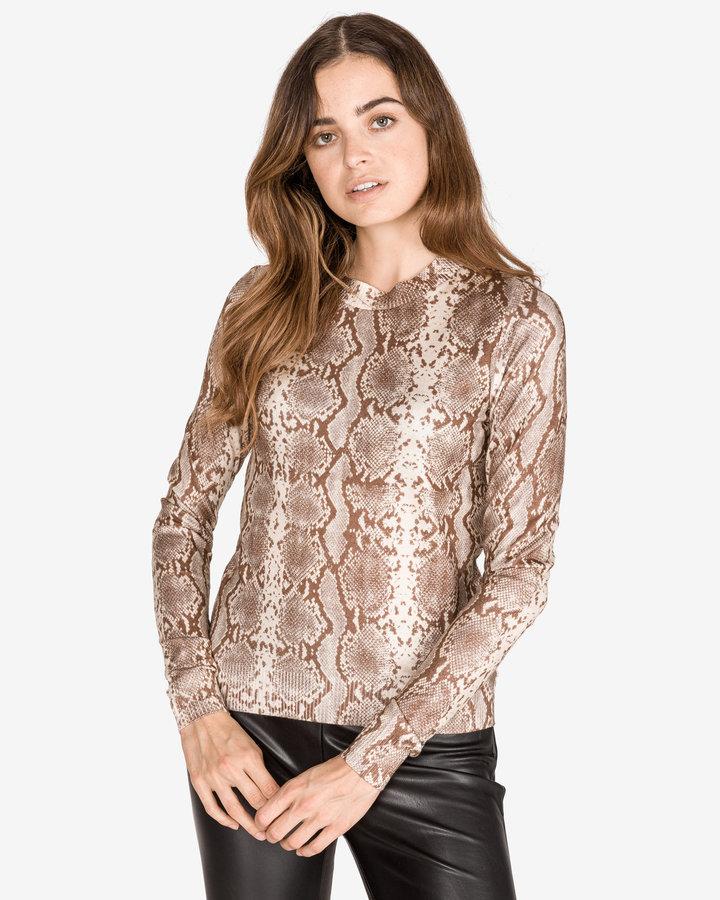 Hnědý dámský svetr Vero Moda