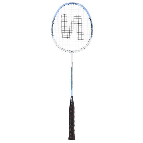 Bílá raketa na badminton Nils - délka 65,7 cm