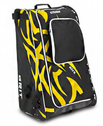 Hokejová taška - Taška GRIT HTFX Hockey Tower Senior Boston Barva: černo-žlutá (Boston)