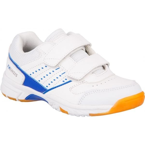 Bílá dětská sálová obuv Kensis