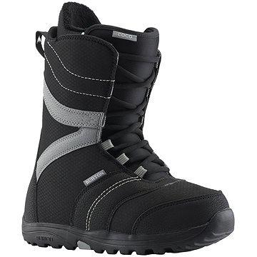 Černé dámské boty na snowboard Burton - velikost 39 EU
