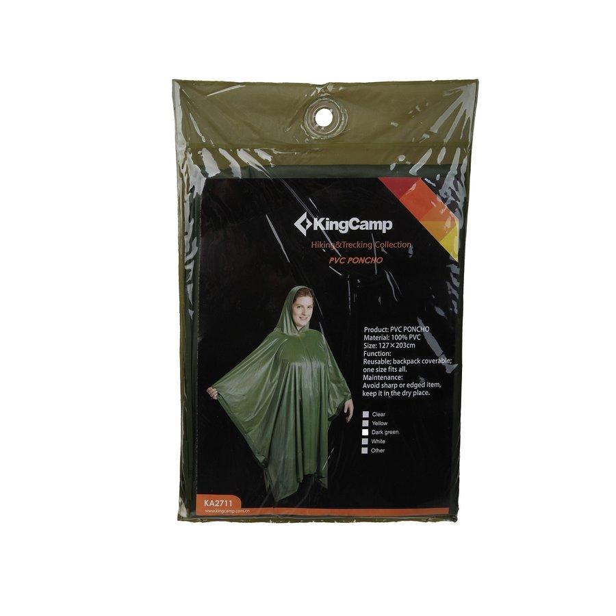 Pláštěnka - Pončo PVC KING CAMP - pláštěnka