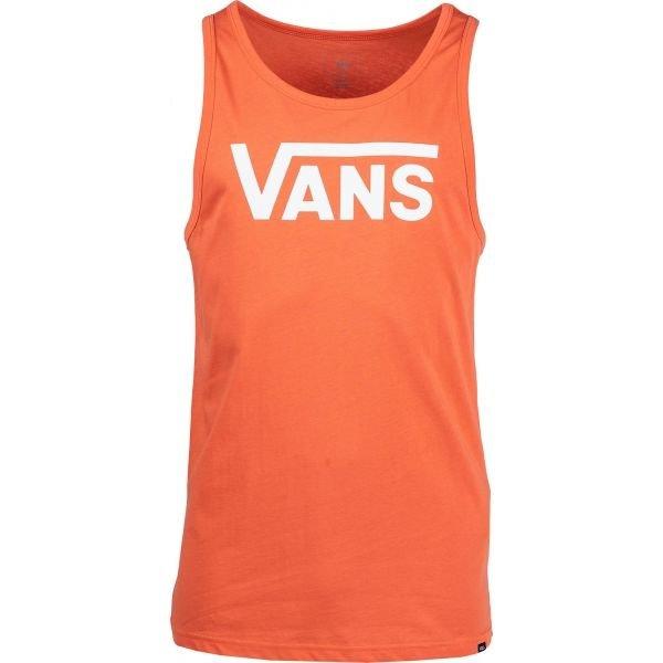 Oranžové pánské tílko Vans