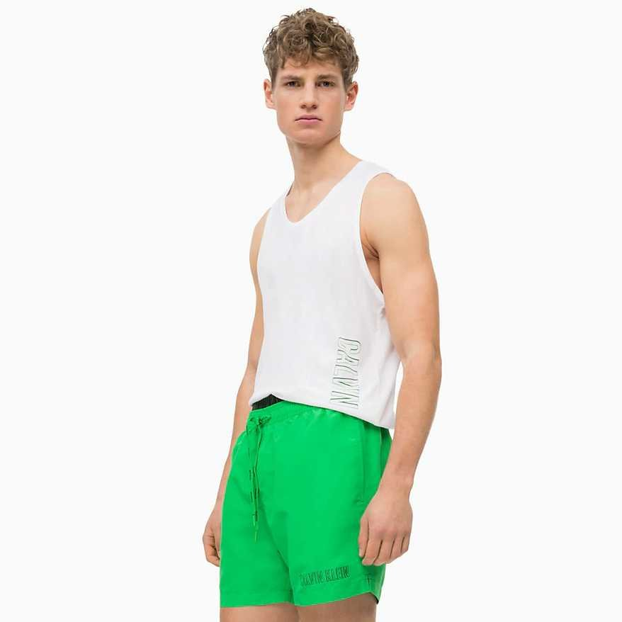 Zelené pánské koupací kraťasy Intense Power 2.0, Calvin Klein