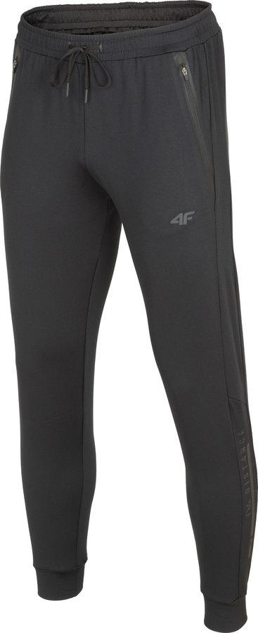 Černé pánské funkční kalhoty 4F