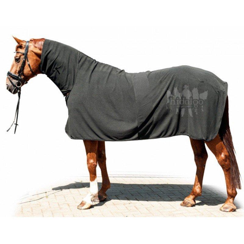 Deka na koně - Odpocovací deka s krkem Mr. Feel Warm HKM Velikost dek: 145