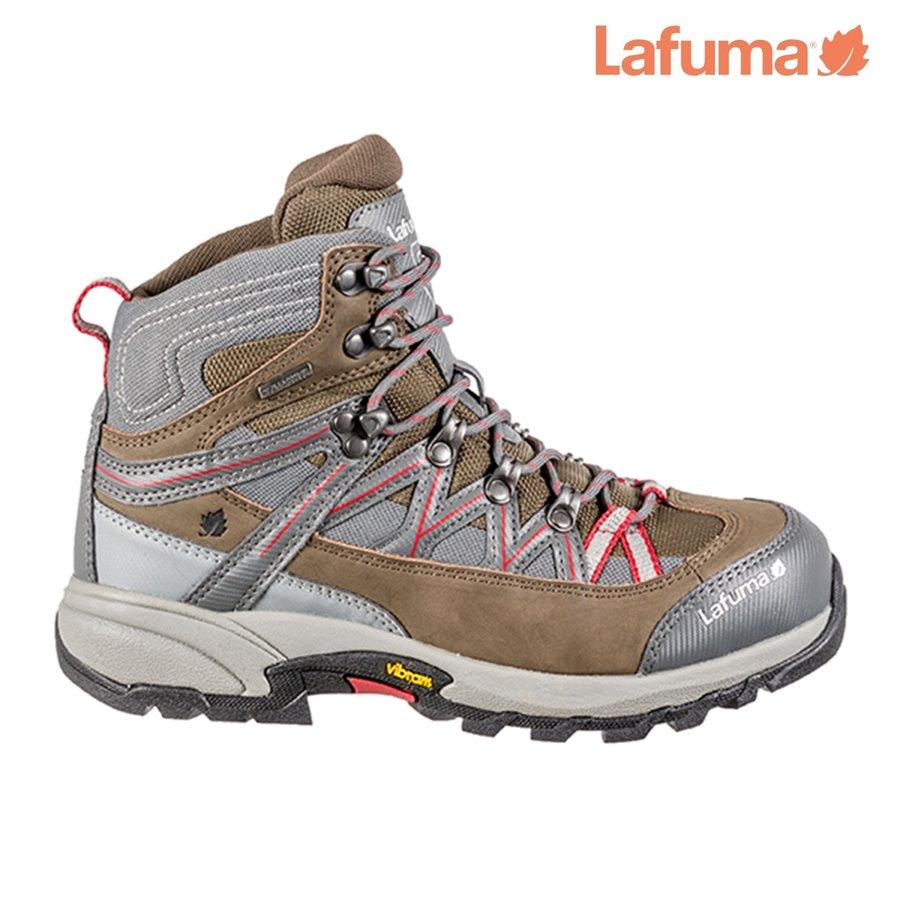Hnědé voděodolné dámské trekové boty ATAKAMA II, Lafuma