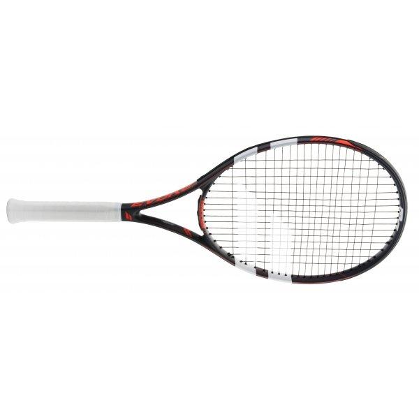 Bílo-černá tenisová raketa Babolat
