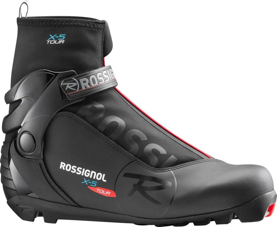 Černé pánské boty na běžky NNN Rossignol - velikost 47 EU