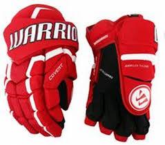 """Hokejové rukavice - senior QRL3, Warrior - velikost 14"""""""