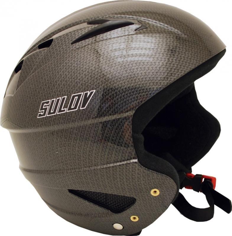 Stříbrná dětská lyžařská helma Sulov - velikost 55-56 cm