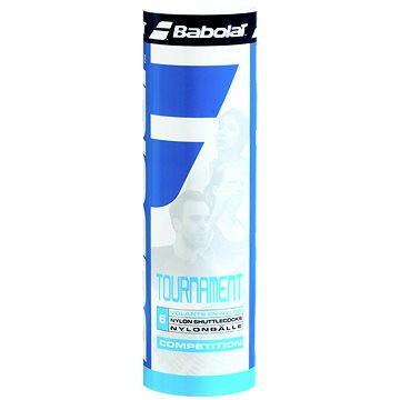 Žlutý plastový badmintonový míček Babolat - 6 ks