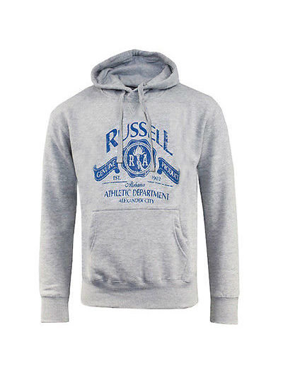 Šedá pánská mikina Russell Athletic