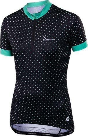 Černý dámský cyklistický dres Klimatex