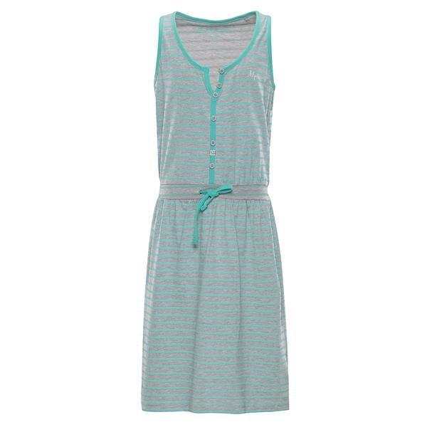 Modro-šedé dívčí šaty Alpine Pro