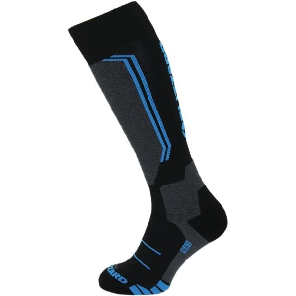 Černo-modré lyžařské ponožky Blizzard