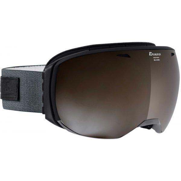 Lyžařské brýle - Alpina Sports BIG HORN MM šedá NS - Unisex lyžařské brýle