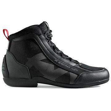 Černé nízké motorkářské boty XPD