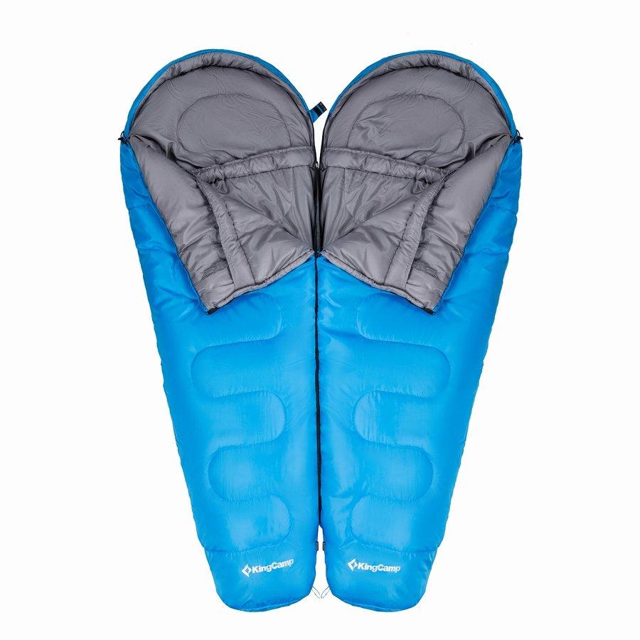 Modrý spací pytel Trek 300, King Camp - délka 215 cm