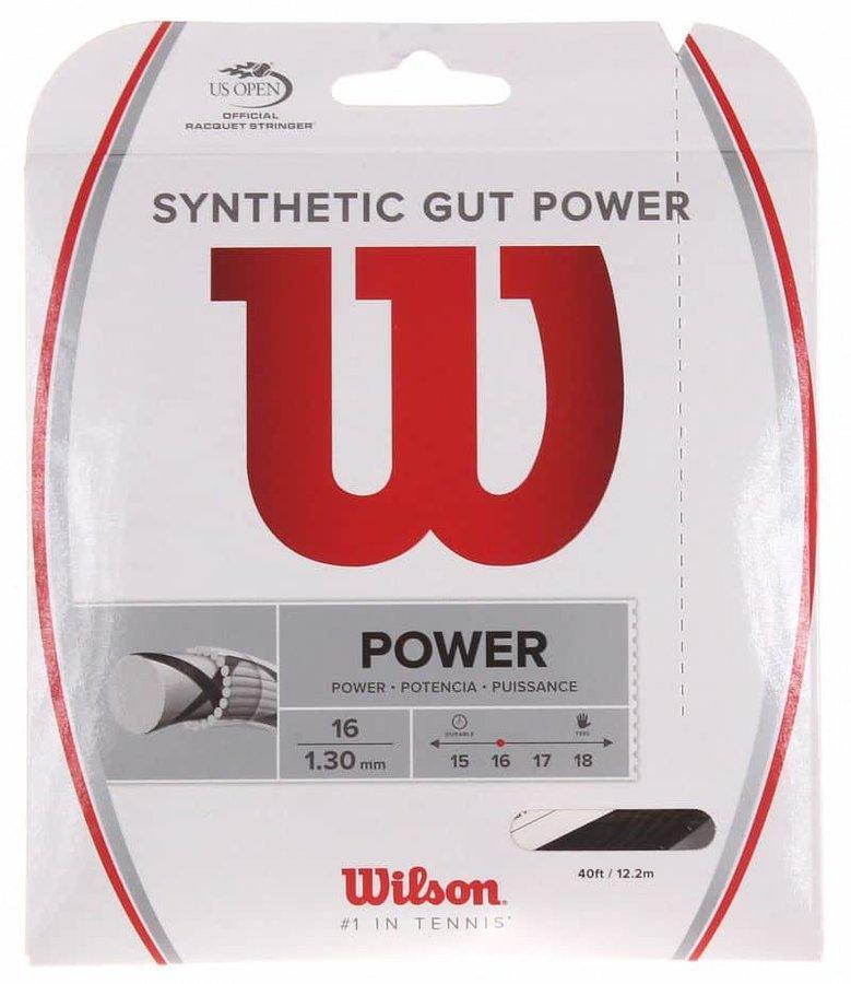 Tenisový výplet - Synthetic Gut Power tenisový výplet 12,2 m průměr: 1,30