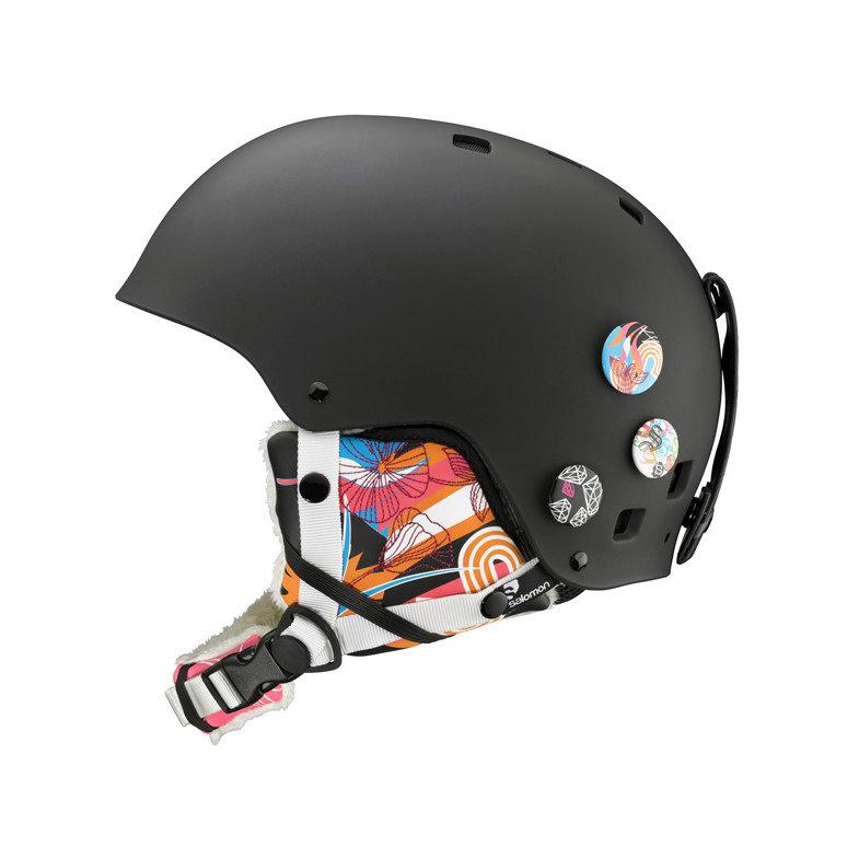 Černá dámská lyžařská helma Salomon - velikost S