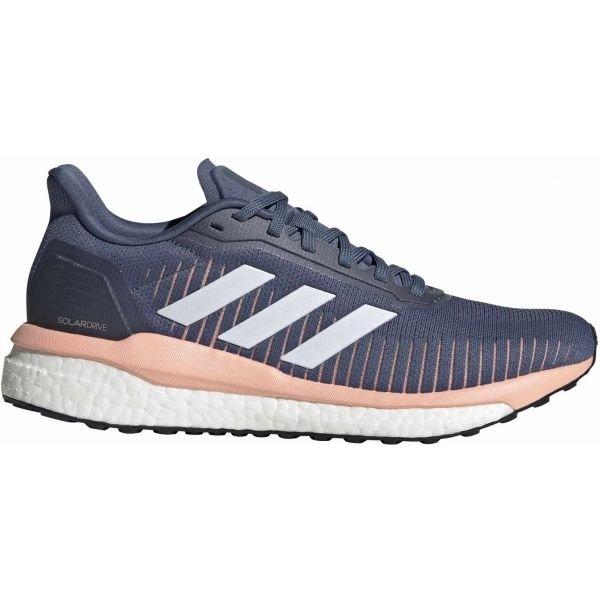 Modré dámské běžecké boty Adidas