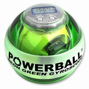 Zelený powerball s počítadlem
