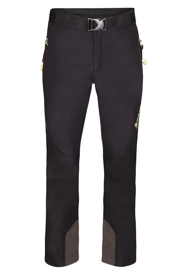 Černé softshellové pánské kalhoty Alpine Pro - velikost 46