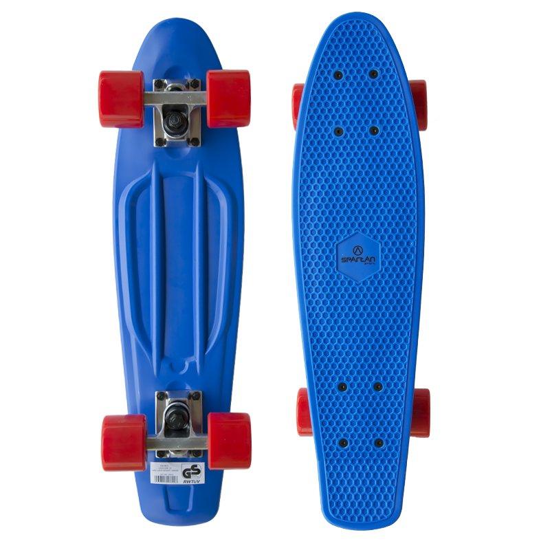 Pennyboard - SPARTAN Plastic 22,5 - modrý