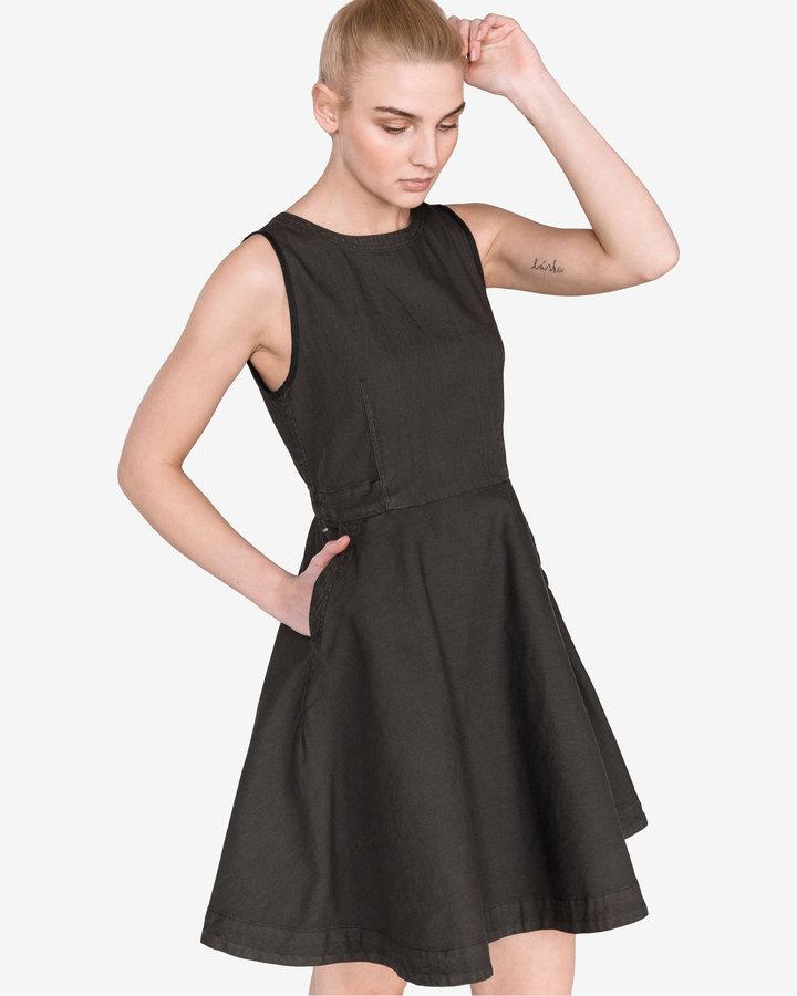 Šedé dámské šaty G-Star RAW