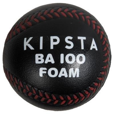 Černý pěnový baseballový míček Kipsta