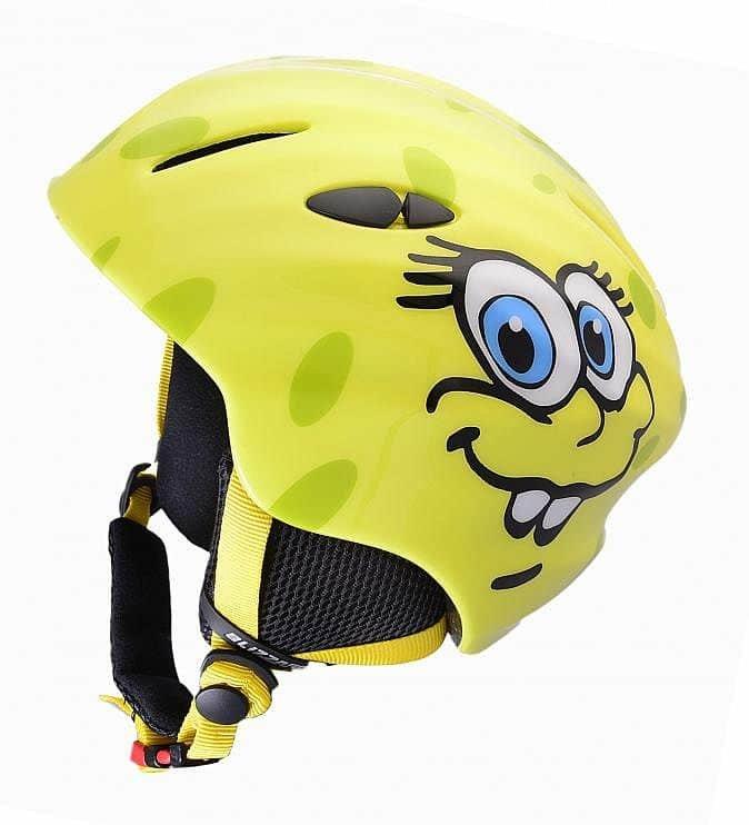 Žlutá lyžařská helma Blizzard - velikost 48-52 cm