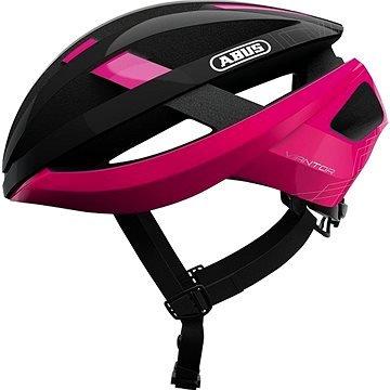 Růžová cyklistická helma ABUS - velikost L