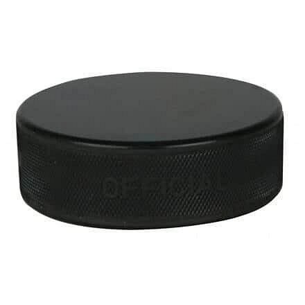 Černý hokejový puk - senior