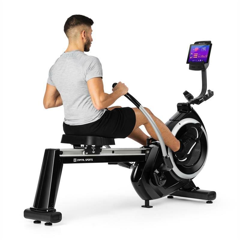 Veslovací trenažér Capital Sports - nosnost 120 kg