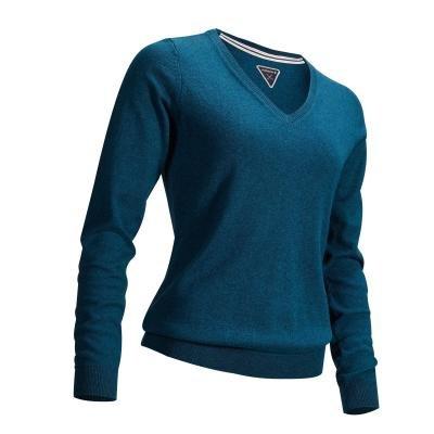 Modrý dámský golfový svetr Inesis - velikost XXL