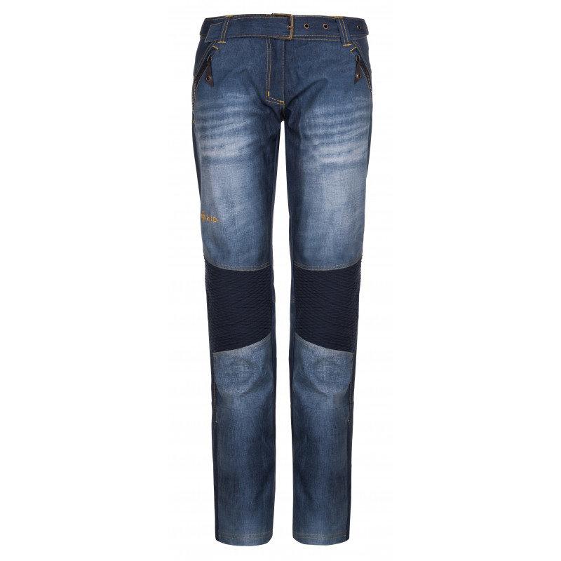 Modré dámské lyžařské kalhoty Kilpi - velikost 36