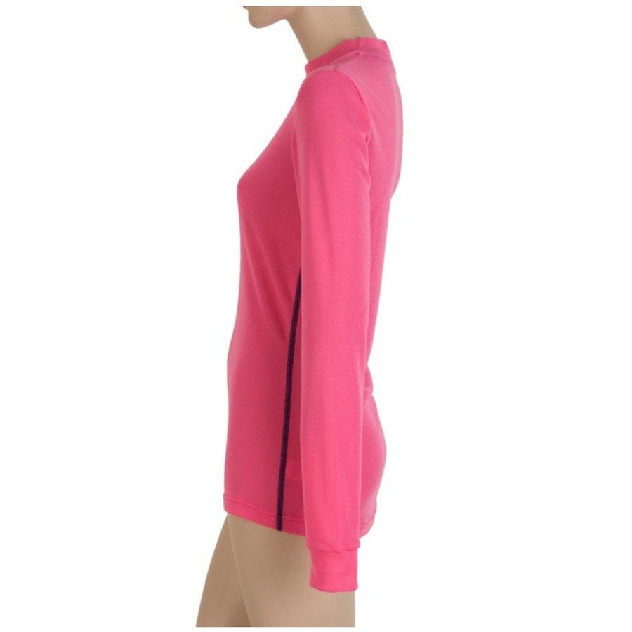 Růžové dámské tričko s dlouhým rukávem Sensor - velikost XL