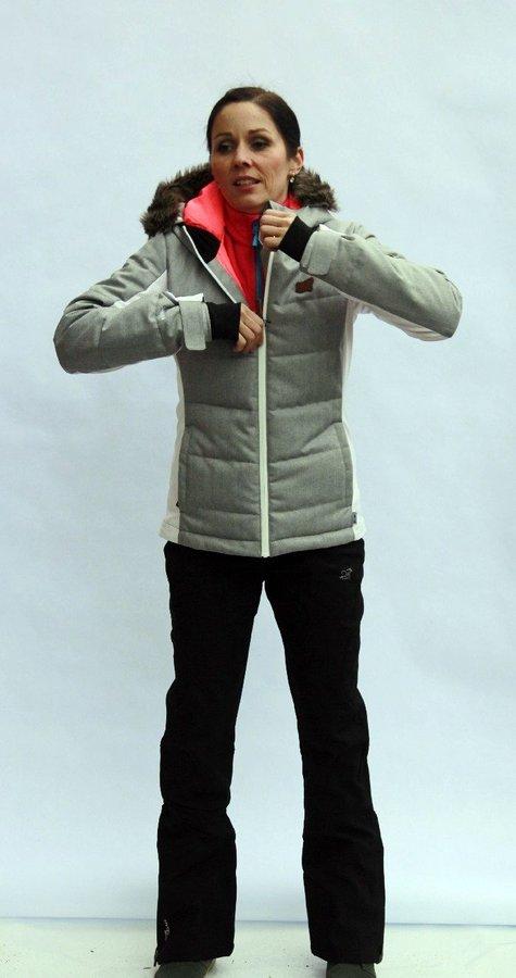 Černé dámské lyžařské kalhoty 2117 of Sweden