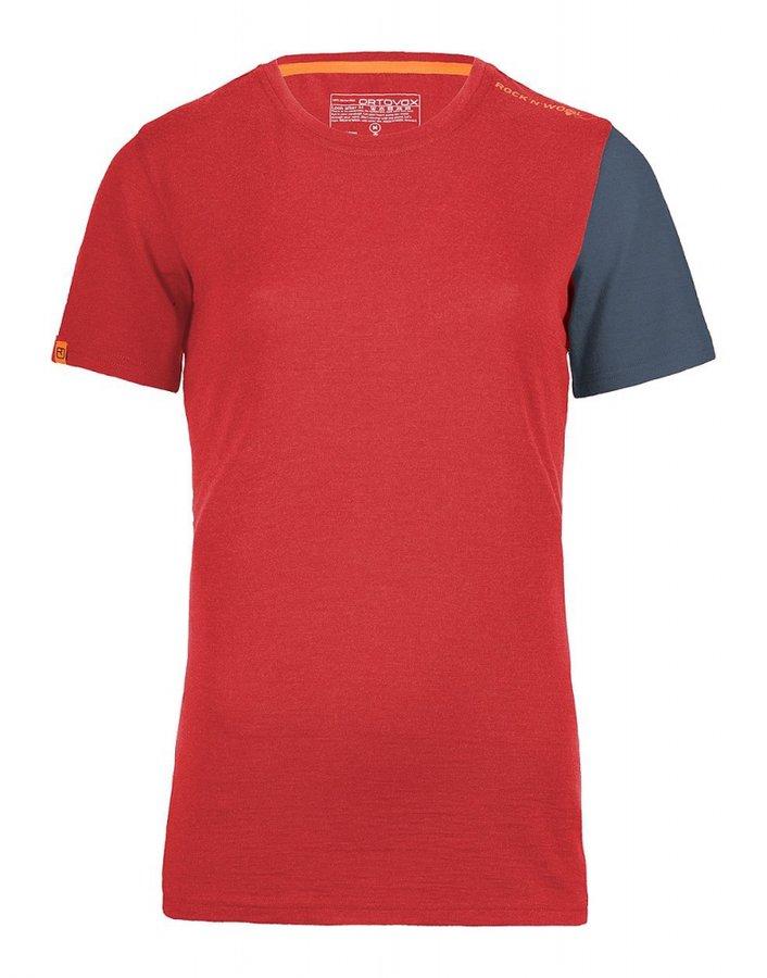 Růžové dámské termo tričko Ortovox - velikost M