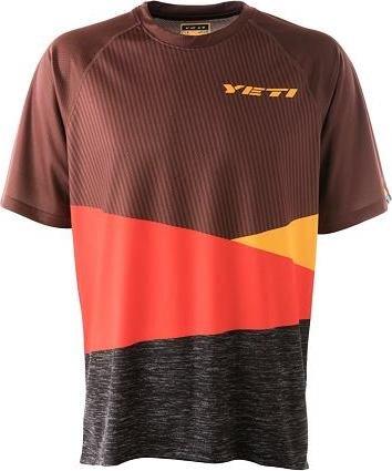 Červený pánský cyklistický dres YETI