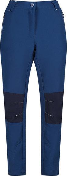 Modré dámské turistické kalhoty Regatta
