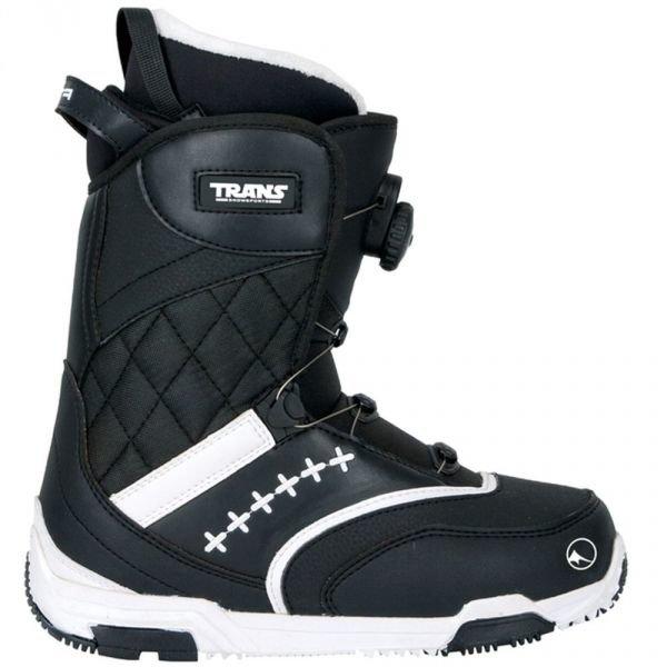 Černé dámské boty na snowboard Trans